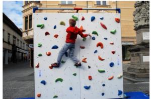 Katera je najbolj primerna plezalna stena za otroke?