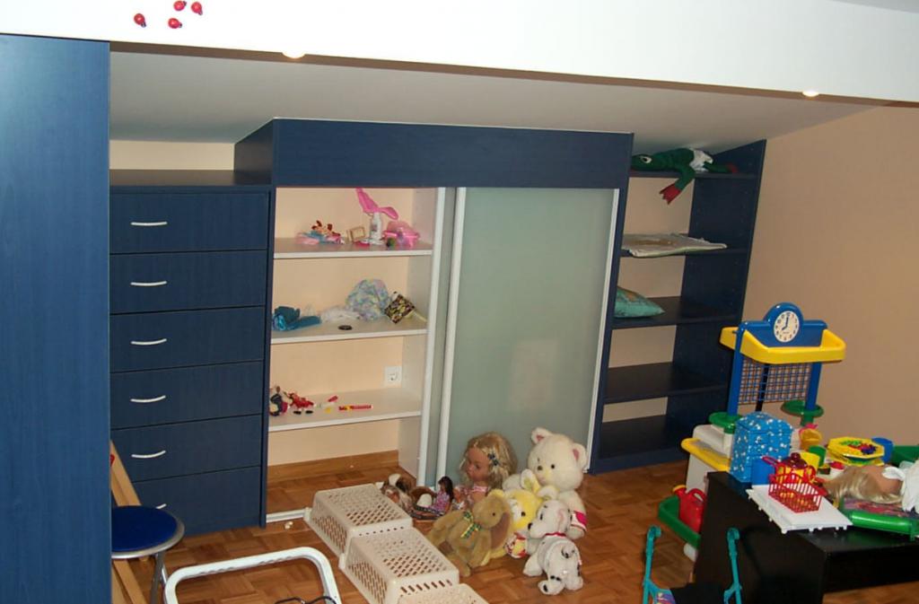 majhna otroška soba pohištvo