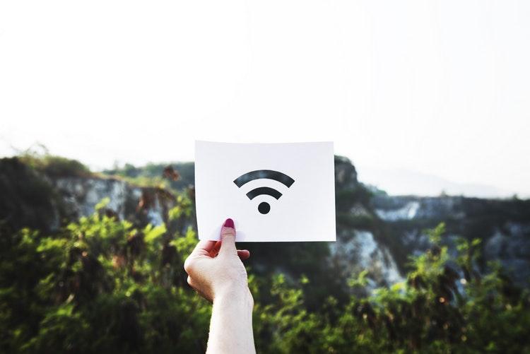 slaba brezžična internetna povezava v hotelu